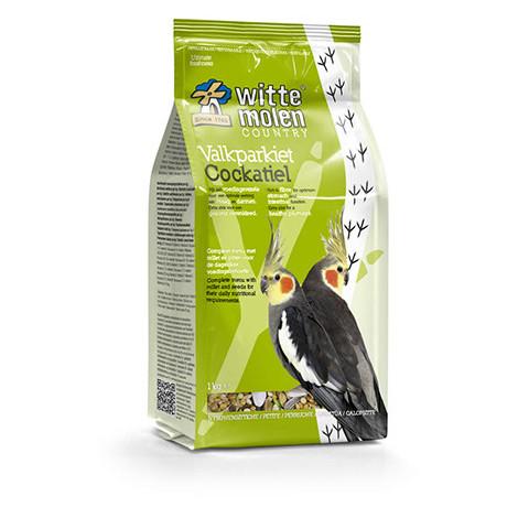 Gama de alimentación Country para cotorras de Witte Molen