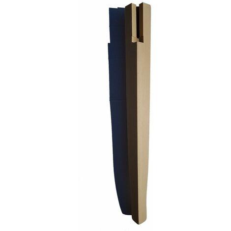 Gambe A Sciabola Per Tavoli.Gamba Tavolo A Sciabola In Legno Di Faggio Grezza 63 Mm X H75 Cm