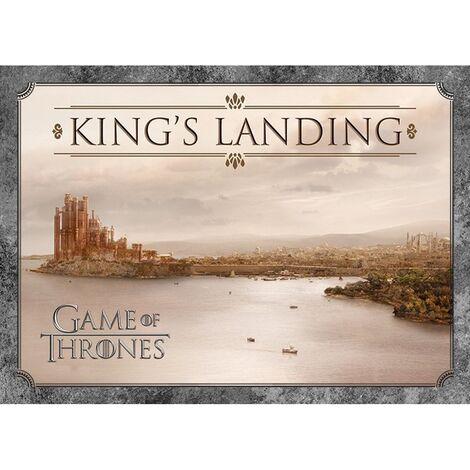 Game of Thrones Kings Landing Postcard (A6) (Light Brown)