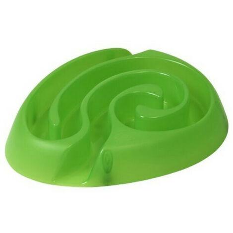 Gamelle anti glouton Buster dogmaze vert pour chien Mini (-10 kg)