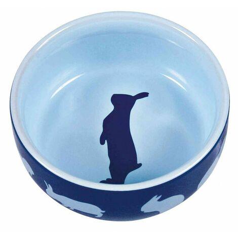 Gamelle, motif lapin, en céramique - 250 ml/ø 11 cm