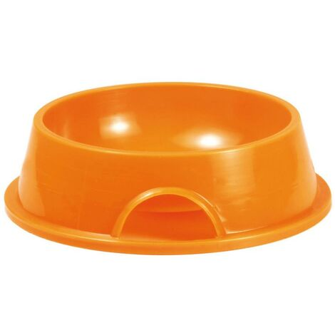 Gamelle ronde en plastique pour chiots et chiens de toutes races