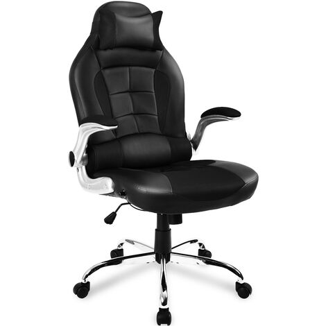 Gaming Chair Recling Esports Chair Computer Desk Chair PU Leather High Back Swaivel Adjustable Lumbar Support