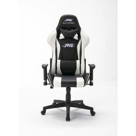 Gaming Computerstuhl Real Gamers Pro schwarz, weißDTG46-1202005