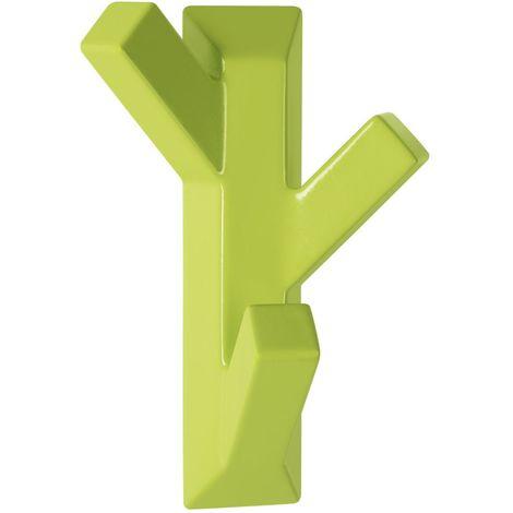 """Gancho adhesivo Spirella """"Tree"""" de ABS en color verde 7,4 x 10,9 cm"""