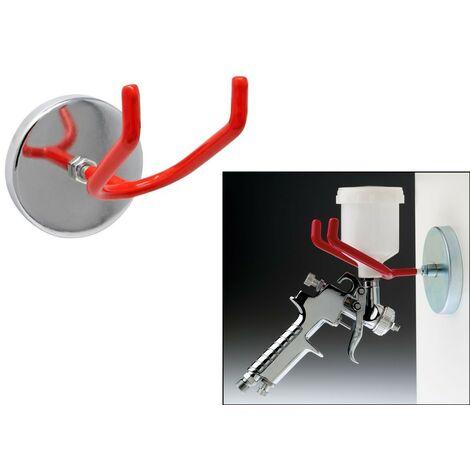 Gancho / soporte magnetico para pistolas de aire y pistolas de impacto