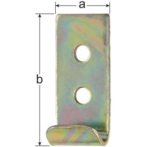 Ganchos para armarios forma C. KA/18/K2