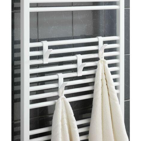 color blanco Wenko/ 6 unidades /Ganchos para radiador