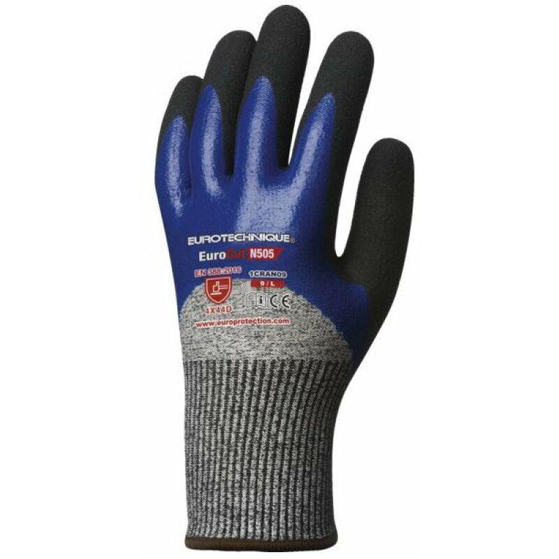 Coverguard Sales(euro Protection) - gant 5 a la coupure eurocutn505 enduction nitrilet11 19259-11