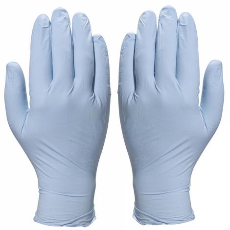 1,5 Bo/îte de 100/gants jetables en nitrile Bleu Taille L ou XL AQL