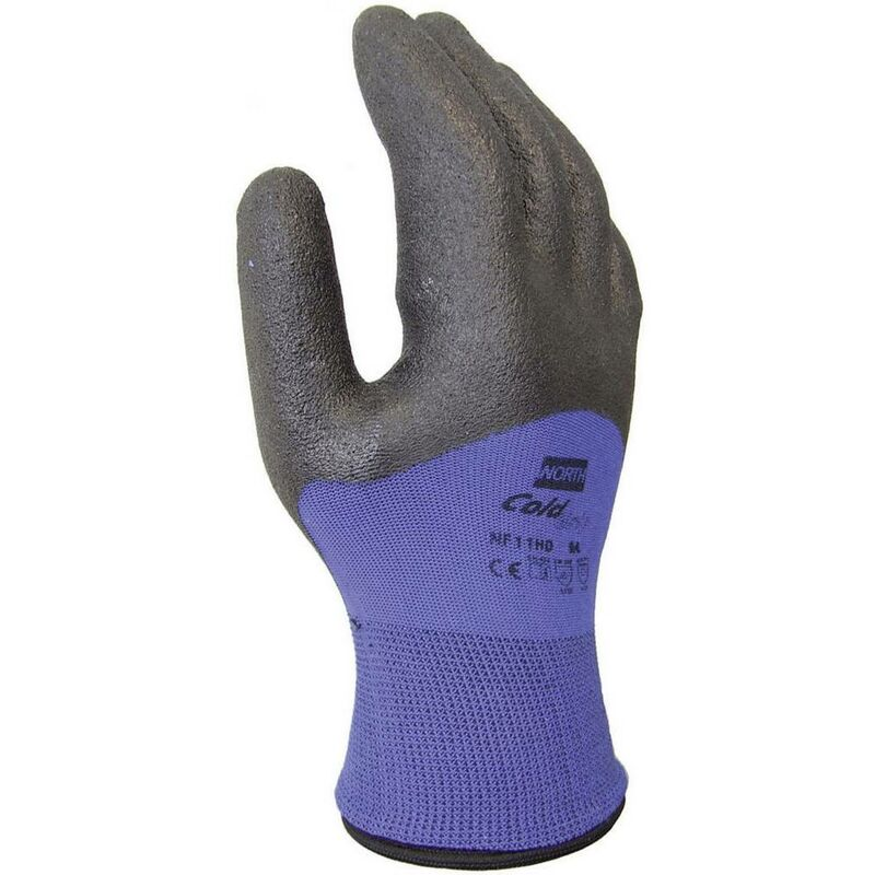 Gants de protection NF11HD-10 En nylon et PVC EN 420.2003 , EN 388.2003 , EN 511.2005 Taille 10 (XL) - North