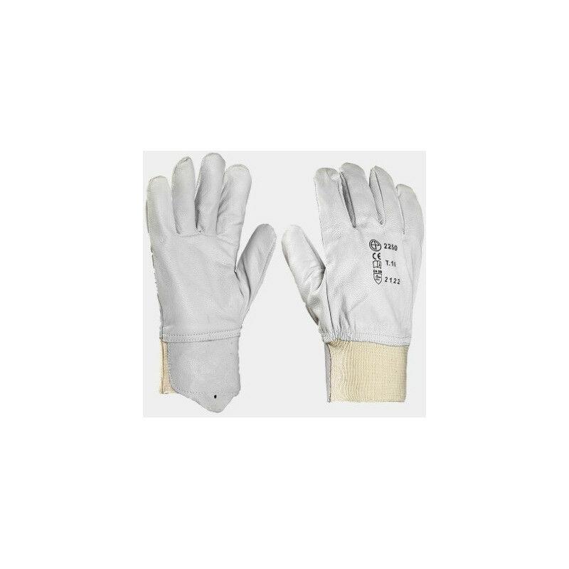 Gant cuir tout fleur poignet tricot EUROPROTECTION MO2250 plusieurs modèles disponibles