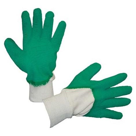 Gant de jardin , Latex Taille 10, vert