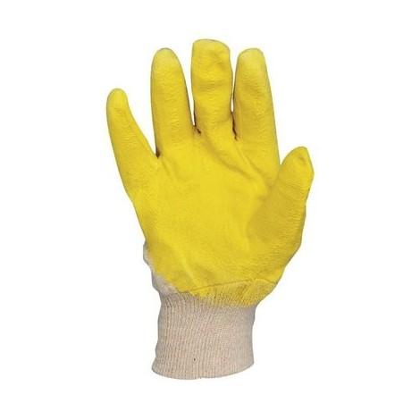 Gants latex jaune Euro-Protection Modèle 1