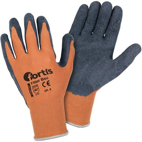 Gant de protection Construction ,Taille 8, FORTIS (Par 12)