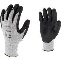 5e2f0d156f905 Gant de protection résistant à la coupure paume latex Cap Vert - Noir -  Taille 8
