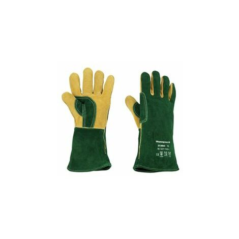 Gant de soudage Green Welding Plus Taille 8 - Vert - Honeywell