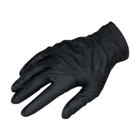 Gant jetable noir - Vendu par 100 - L - Black mamba