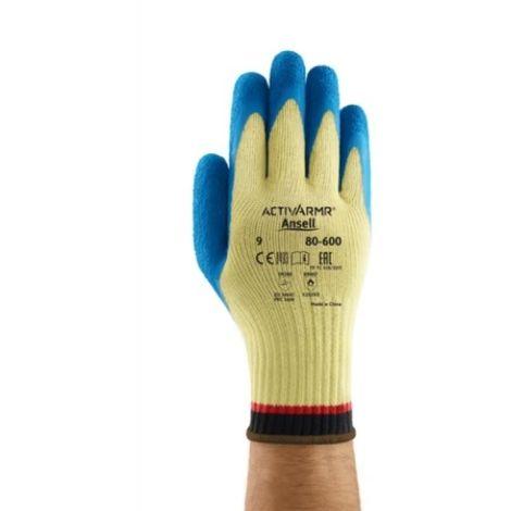 Gant Kevlar ActivArmr® 80-600 bleu/jaune taille 9