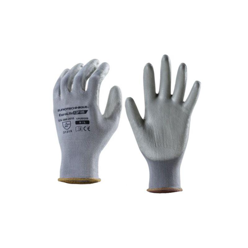 Gant Manipulation Legere Gris T10 - Euro Protection