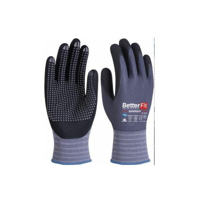 3L - Gant Nitrile Betterfit Superdot Bl-008 T-10