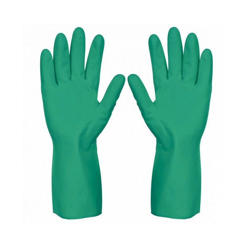 Gant nitrile protection chimique 33cm NIT15 Taille: 8 - Singer