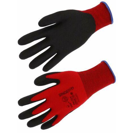 Gant polyamide enduit PVC NYMR15CFTN SINGER - plusieurs modèles disponibles