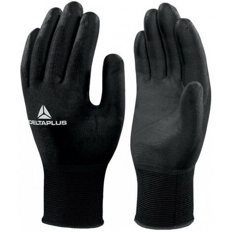 Gant tricot polyamide / paume PU sans latex VV702NO Delta Plus - plusieurs modèles disponibles