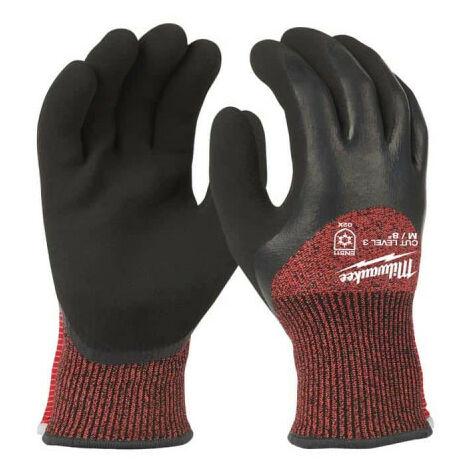 Gants anti-coupure hiver MILWAUKEE Taille M niveau 3 - 4932471347