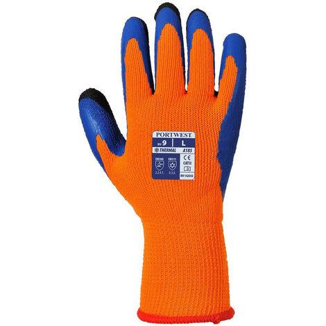 Gants anti-froid Duo-Therm A185 Portwest Orange / Bleu 9