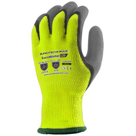 Coverguard - Gant anti-froid EUROWINTER L20 acrylique HV - 1LAFO Taille : 10
