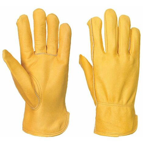 Gants cuir bovin anti-froid Portwest A271 Insulatex Bronze