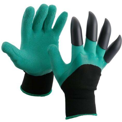 gants de jardinage griffes