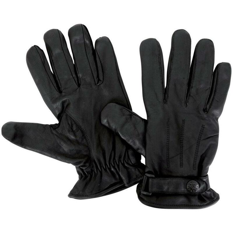 Gants de palpation cuir polaire CityGuard Noir XL