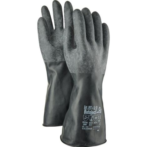Taille 9 Honeywell KCL Gant butoject 898 Noir