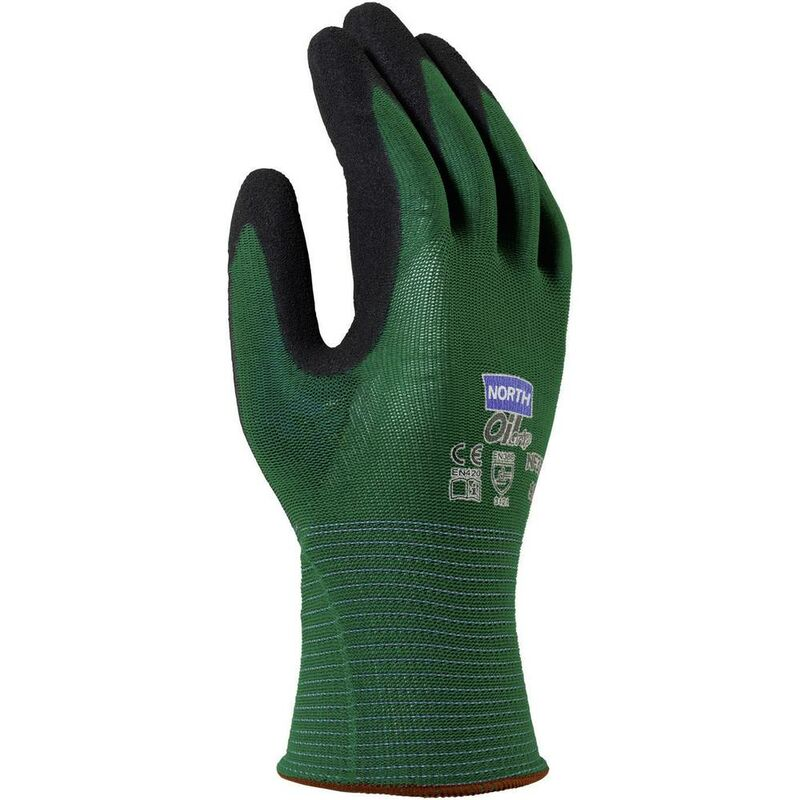 Gants de protection North NF35-11 Nylon EN 420.2003, 388.2003 EN Taille 11 (XXL)
