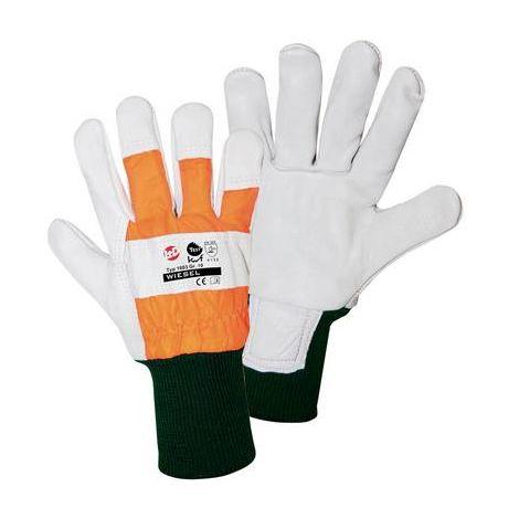Gants de protection pour le bois Taille (gants): 9, L L+D worky Wiesel-FORST 1603 1 paire(s)