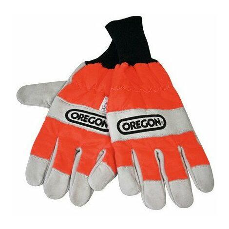 Gants de protection pour tronçonneuse Oregon