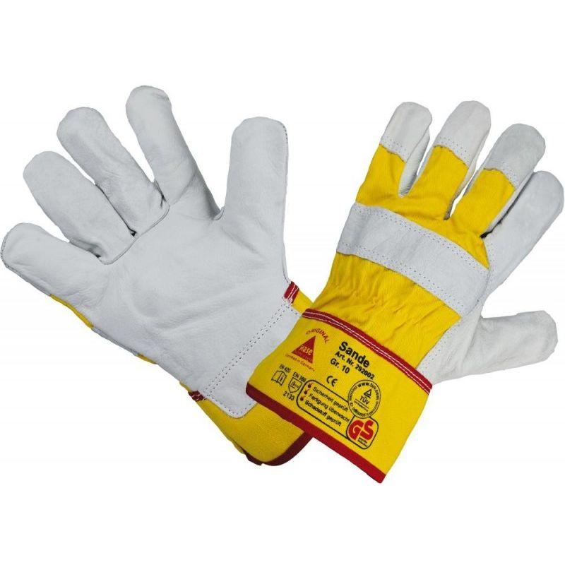 Hase Safety Gloves - Gants de protection Sande, RindCuir,Taille10