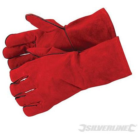 Gants de soudeur 330mm - Silverline - 282389