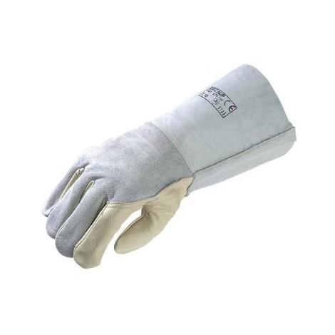 Gants de soudeur, manchette 150 mm Euro-Protection