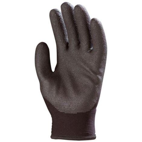 Gants de travail précision anti-froid Eurotechnique 6630 (lot de 10 paires de gants) Noir