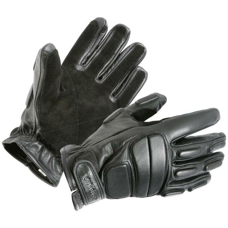 Gants d'intervention cuir CityGuard Noir M