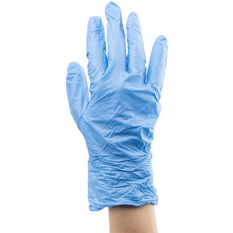 Gants en latex RS PRO en latex, taille 10 - XL, Résistant aux produits chimiques, médical, Non poudrés, Naturel