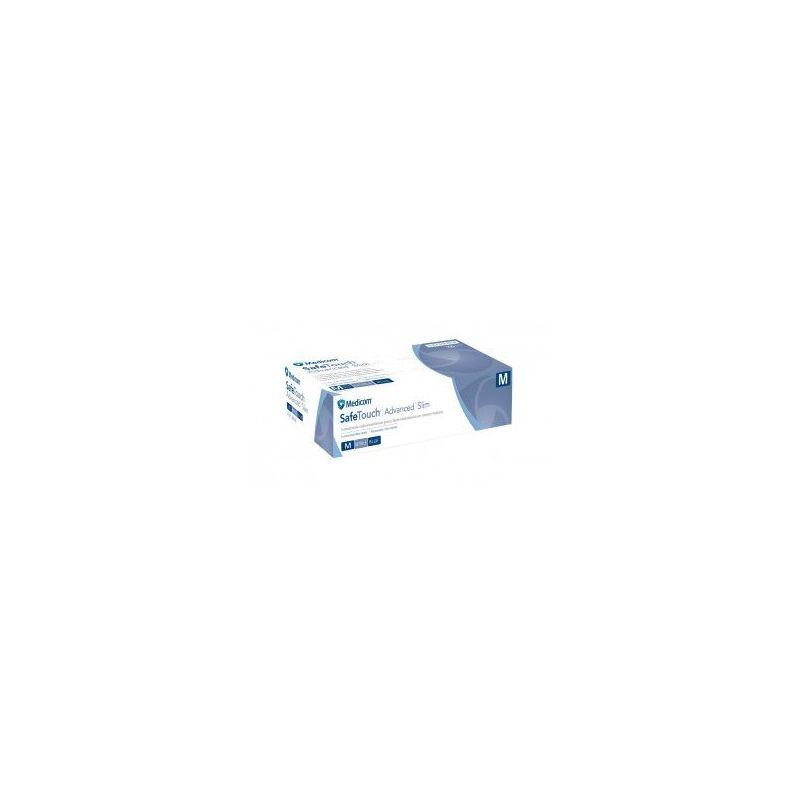 Gants en nitrile Safetouch noir T9/L boîte de 100 ORAPI