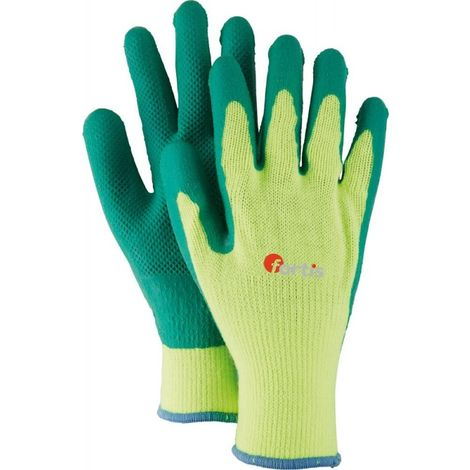 Gants. Fitter StampAcryl, Latex, Taille 9 (Par 12)