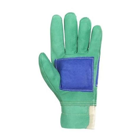 Gants forestier cuir hydrofuge Eurotechnique 2360 (lot de 12 paires de gants)