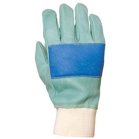 Gants forestier cuir hydrofuge Eurotechnique 2360 (lot de 12 paires de gants) Vert