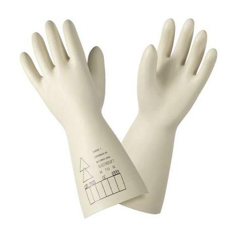 Gants isolants 1 000 V/AC Sibille Factory TG3009 Taille 9 (L) Latex naturel EN 60 903: 2003 et CEI 60 903: 2002