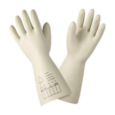 Gants isolants 500 V/AC Sibille Factory GLE36-00/09 Taille 9 (L) Latex naturel EN 60 903: 2003 et CEI 60 903: 2002